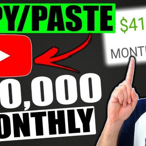How To Make Money On YouTube Without Making Videos 2021 | Earn $40,000 A Month Just Copy & Paste!