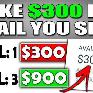 Get Paid $300 Per EMAIL SENT For FREE In Recurring Income (WORLDWIDE) Make Money Online
