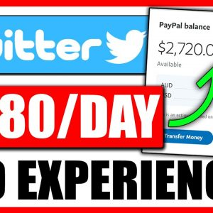 ($380/Day) EASY Twitter Affiliate Marketing Tutorial For Beginners | Make Money With Twitter - FREE