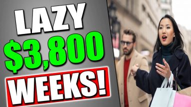 ($3800/WEEKS) LAZY WAY To Make Money Online In 2021 as a BEGINNER! (WORLDWIDE AND FREE)
