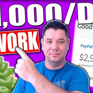 "Make $1,000 Per Day ""DOING NO HARD WORK"" On Autopilot (Make Money Online)"