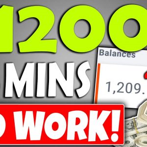 "EARN $1,200 Per Day ""DOING NO WORK"" On Autopilot in Passive Income (Make Money Online)"