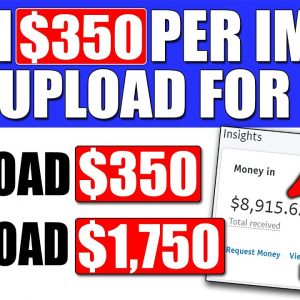 Earn $350 Per Image You Upload Using Affiliate Marketing and Digistore24 To Make Passive Income!
