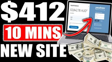 Earn $412 Daily In Passive Income That Takes 10 Mins With Instant Traffic (Make Money Online)