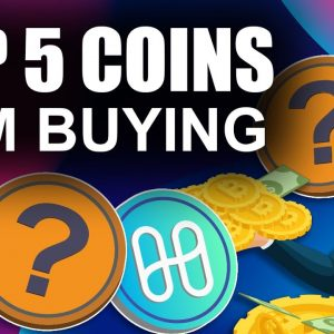 Top 5 Altcoins I'm Buying NOW (How to Buy the Crypto Dip)