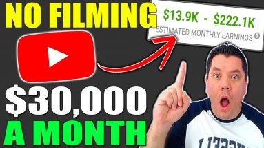 EASY $30,000/Mo Strategy | How to Make Money on YouTube WITHOUT Making Videos From Scratch 2021