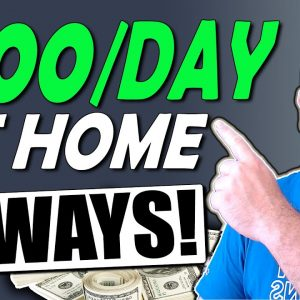10 SIDE HUSTLE IDEAS TO MAKE MONEY FROM HOME ($100 To $300 Days)