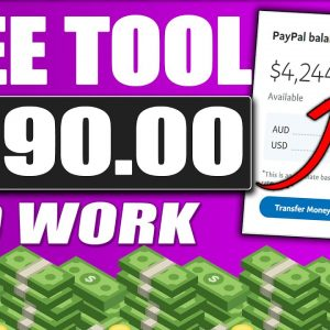 Earn $990/Day Using a FREE TOOL (Make Money Online)