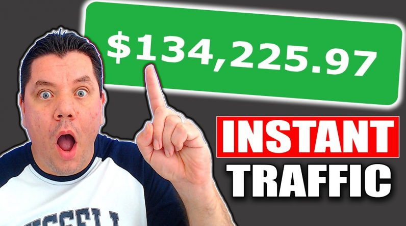 (SEE PROOF) Earn $534.50/Day Instant FREE Traffic To Make Passive Income With Affiliate Marketing