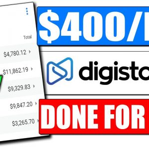 Digistore24 Tutorial for Beginners Earn $400/Day All Done For You (Digistore24 Affiliate Marketing)