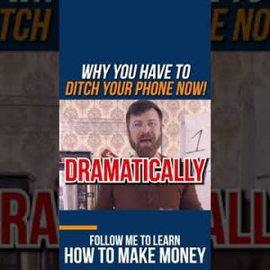 STOP! Ditch your phone NOW. Here is why... #shorts